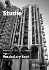 Omslag - Studio Edexcel GCSE French Higher Vocab Book (pack of 8)