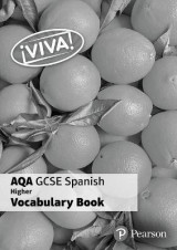 Omslag - Viva! AQA GCSE Spanish Higher Vocab Book (pack of 8)