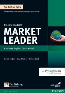 Market Leader 3rd Edition Extra Pre-Intermediate Coursebook with DVD-ROM and MyEnglishLab Pack av Clare Walsh (Blandet mediaprodukt)