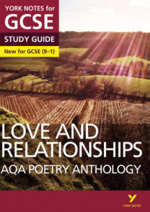 AQA Poetry Anthology - Love and Relationships: York Notes for GCSE (9-1) (Heftet)