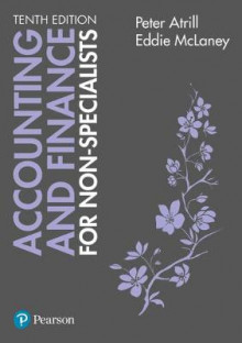 Accounting and Finance for Non-Specialists with MyAccountinglab av Peter Atrill og Eddie McLaney (Blandet mediaprodukt)