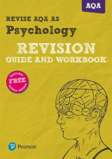 Omslag - REVISE AQA AS Level Psychology Revision Guide and Workbook