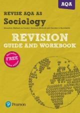 Omslag - REVISE AQA AS level Sociology Revision Guide and Workbook