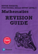 Omslag - REVISE Edexcel Functional Skills Mathematics Entry: Revision Guide Level 3