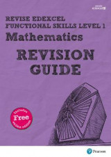 Omslag - REVISE Edexcel Functional Skills Mathematics Level 1 Revision Guide: Level 1