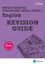 Omslag - REVISE Edexcel Functional Skills English Level 1 Revision Guide: Level 1