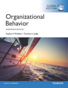 Organizational Behavior av Stephen P. Robbins og Timothy A. Judge (Heftet)