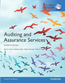 Auditing and Assurance Services plus MyAccountingLab with Pearson eText, Global Edition av Alvin A. Arens, Randal J. Elder, Mark S. Beasley og Chris E. Hogan (Blandet mediaprodukt)