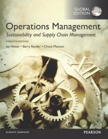 Operations Management: Sustainability and Supply Chain Management av Jay Heizer, Barry M. Render og Chuck Munson (Heftet)