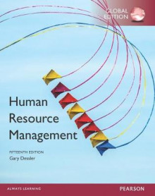 Human Resource Management plus MyManagementLab with Pearson eText, Global Edition av Gary Dessler (Blandet mediaprodukt)