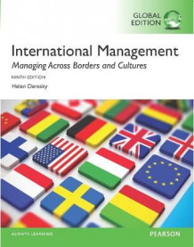 International Management: Managing Across Borders and Cultures, Text and Cases av Helen Deresky (Heftet)