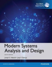 Modern Systems Analysis and Design av Joseph S. Valacich og Joey F. George (Heftet)
