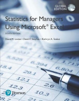 Omslag - Statistics for Managers Using Microsoft Excel, Global Edition plus MyStatLab with Pearson eText, Global Edition