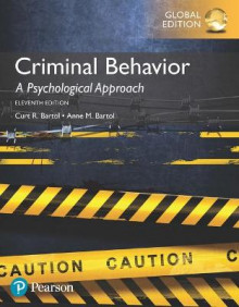 Criminal Behavior: A Psychological Approach av Curt R. Bartol og Anne M. Bartol (Heftet)