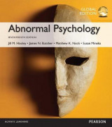 Omslag - Abnormal Psychology plus MyPsychLab with Pearson eText, Global Edition