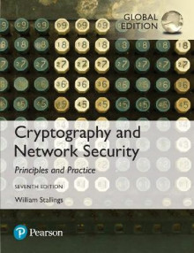 Cryptography and Network Security: Principles and Practice av William Stallings (Blandet mediaprodukt)