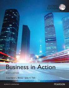Business in Action Plus MyBizLab with Pearson eText av Courtland L. Bovee og John V. Thill (Blandet mediaprodukt)