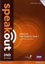 Omslag - Speakout Advanced Flexi Students' Book 1 with MyEnglishLab Pack