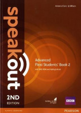 Omslag - Speakout Advanced Flexi Students' Book 2 with MyEnglishLab Pack