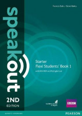 Omslag - Speakout Starter Flexi Students' Book 1 with MyEnglishLab Pack