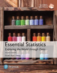 Essential Statistics plus MyStatLab with Pearson eText, Global Edition av Robert N. Gould, Colleen N. Ryan og Rebecca Wong (Blandet mediaprodukt)