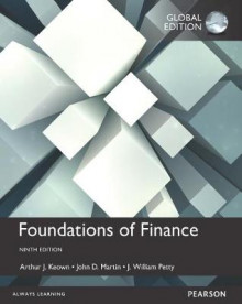 Foundations of Finance Plus MyFinanceLab with Pearson eText av Arthur J. Keown, John D. Martin og J. William Petty (Blandet mediaprodukt)
