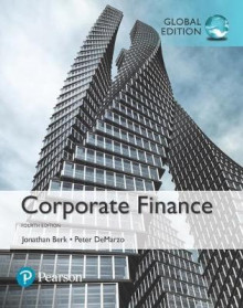Corporate Finance Plus MyFinanceLab with Pearson eText av Jonathan Berk og Peter DeMarzo (Blandet mediaprodukt)