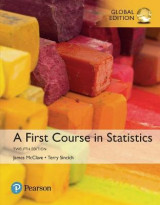 Omslag - A First Course in Statistics plus MyStatLab with Pearson eText, Global Edition