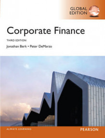 Corporate Finance Plus MyFinanceLab with Pearson eText av Jonathan Berk, Peter DeMarzo og Jonathan Berk (Blandet mediaprodukt)