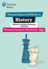 Omslag - REVISE Edexcel GCSE (9-1) History Weimar and Nazi Germany Revision Guide and Workbook