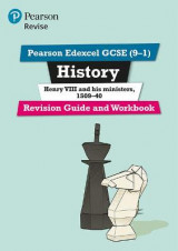Omslag - Revise Edexcel GCSE (9-1) History Henry VIII Revision Guide and Workbook