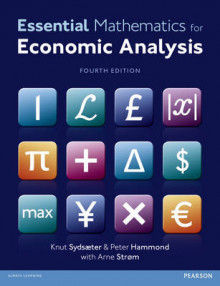Essential Mathematics for Economic Analysis + MyMathLab av Knut Sydsaeter, Peter Hammond, Arne Strom og Andres Carvajal (Blandet mediaprodukt)