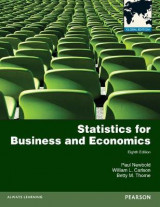 Omslag - Statistics for Business and Economics Plus MyMathLab with Pearson eText