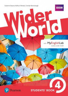 Wider World 4 Students' Book with MyEnglishLab Pack av Carolyn Barraclough, Suzanne Gaynor og Kathryn Alevizos (Blandet mediaprodukt)