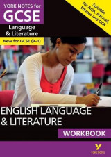 Omslag - English Language and Literature Workbook: York Notes for GCSE (9-1)