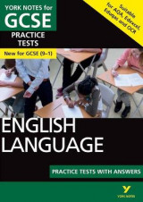 Omslag - English Language Practice Tests with Answers: York Notes for GCSE (9-1)