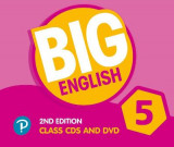 Omslag - Big English AmE 2nd Edition 5 Class CD with DVD