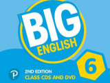 Omslag - Big English AmE 2nd Edition 6 Class CD with DVD