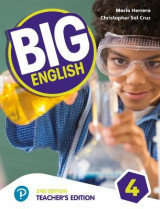 Omslag - Big English AmE 2nd Edition 4 Teacher's Edition