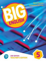 Omslag - Big English AmE 2nd Edition 5 Teacher's Edition
