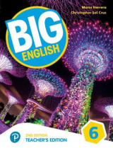 Omslag - Big English AmE 2nd Edition 6 Teacher's Edition