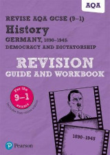 Omslag - Revise AQA GCSE (9-1) History Germany 1890-1945: Democracy and dictatorship Revision Guide and Workbook