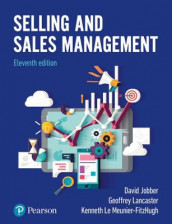 Selling and Sales Management, 11th Edition av David Jobber, Geoffrey Lancaster og Kenneth Le Meunier-Fitzhugh (Heftet)