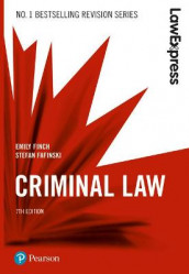 Law Express: Criminal Law, 7th edition av Stefan Fafinski og Emily Finch (Heftet)