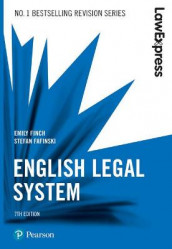 Law Express: English Legal System, 7th edition av Stefan Fafinski og Emily Finch (Heftet)