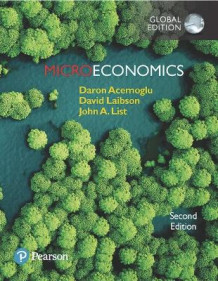 Microeconomics plus Pearson MyLab Economics with Pearson eText, Global Edition av Daron Acemoglu, David Laibson og John List (Blandet mediaprodukt)