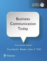 Omslag - Business Communication Today plus Pearson MyLab Business Communication with Pearson eText, Global Edition