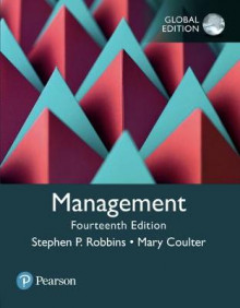 Management, Global Edition av Stephen P. Robbins og Mary A. Coulter (Heftet)