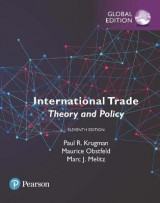 Omslag - International Trade: Theory and Policy plus Pearson MyLab Economics with Pearson eText, Global Edition