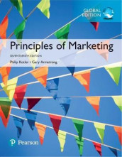 Principles of Marketing, Global Edition av Gary Armstrong og Philip Kotler (Heftet)